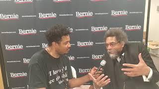 Cornel West on Bernie Sanders: Neoliberals Scared Bernie Will Attack Capitalism