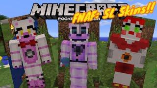 Fnaf world minecraft skins