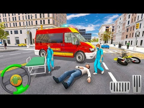 Fun Ambulance Rescue Emergency Driver: City Duty - Android gameplay