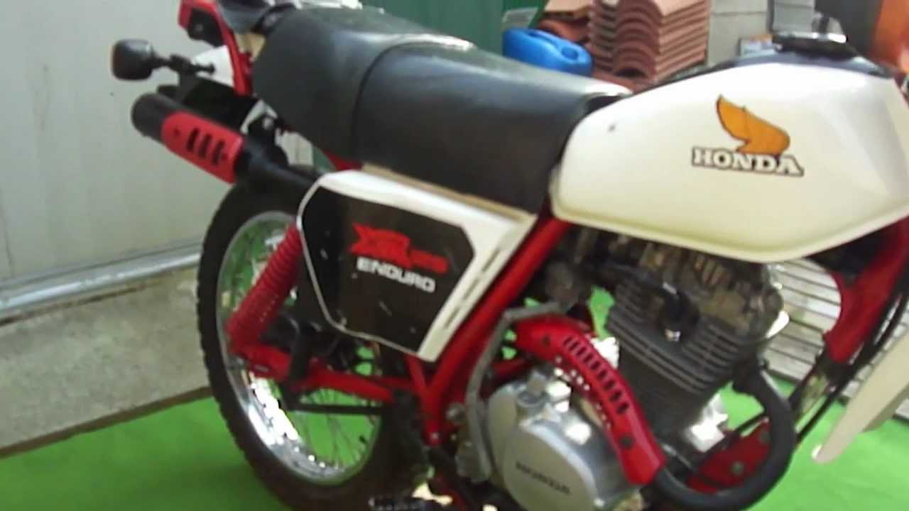 125 honda xr 10 11 1981 youtube. Black Bedroom Furniture Sets. Home Design Ideas