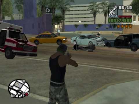 GTA San Andreas - Killing Innocent People (Part Two)