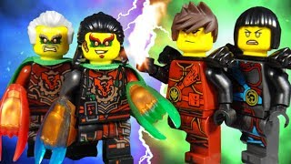 LEGO NINJAGO THE MOVIE - HANDS OF TIME PART 6 FUTURE OF DARKNESS - SEASON FINALE