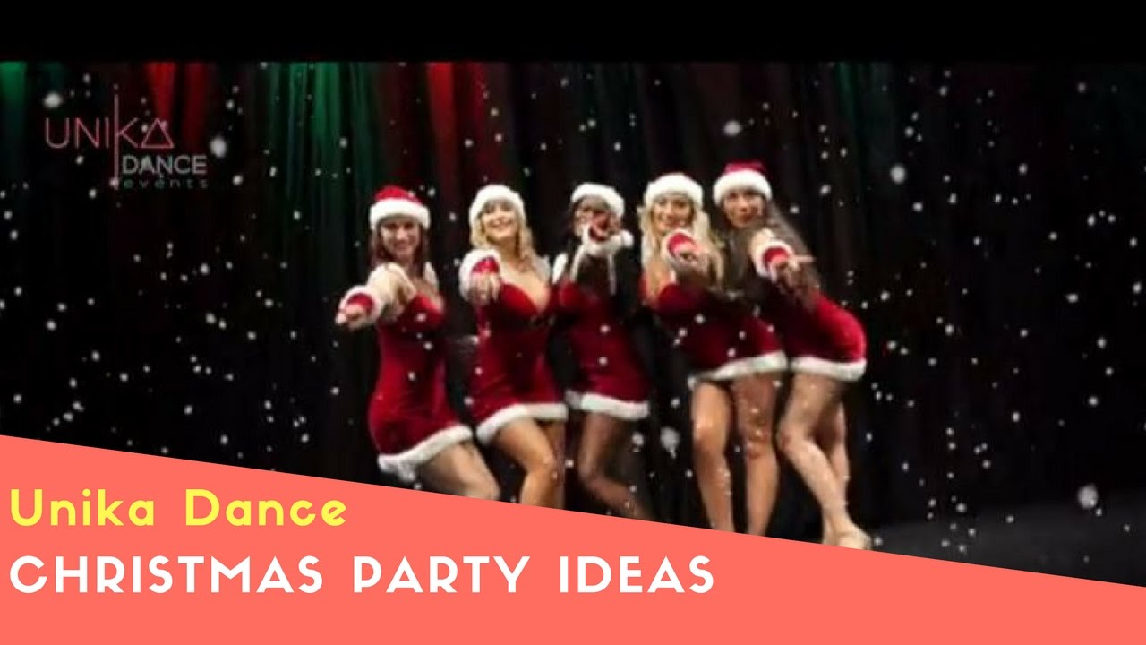 christmas party ideas dance entertainment