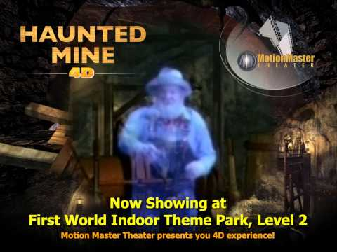 4D Motion Master: Haunted Mine