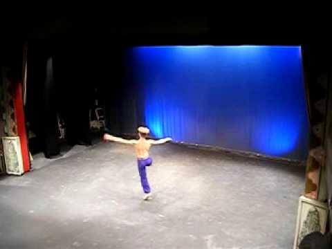 Rubén Alonso Almagro, bailarín.