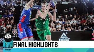 Australia v Mongolia - Final Highlights - FIBA 3x3 Asia Cup 2018