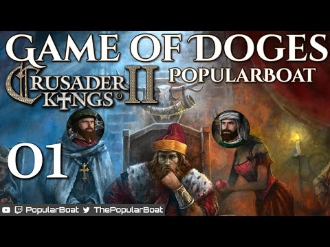 CK2: Monks and Mystics MP - Game of Doges 01 - How to Merchant Republic