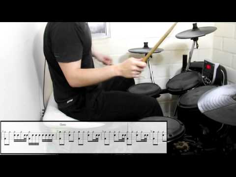 Red Hot Chili Peppers - Californication (Drum Cover) (Play Along Tabs In Video)