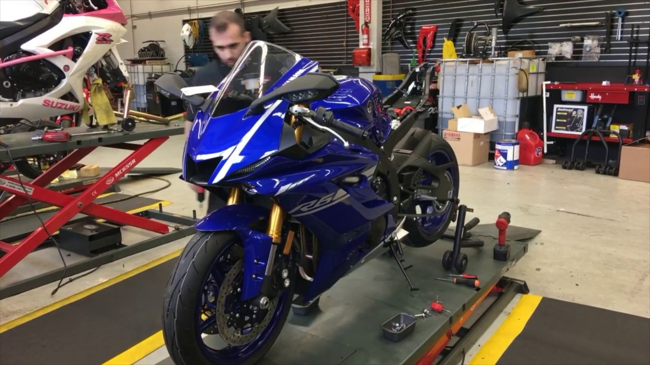 2017 Yamaha R6 Track Bike Build | Part 1 (Time Lapse)