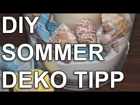 Strand Look - Sommerdeko - Deko Tipp - Schnell & einfach! - YouTube