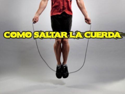 Hombres saltar beneficios la cuerda