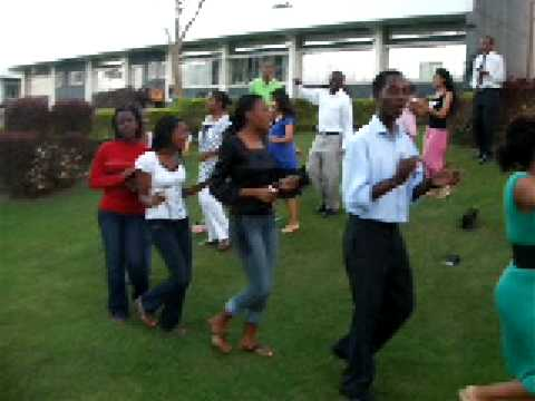 African sun down worship AUP  we are marching to jerusalem!!!