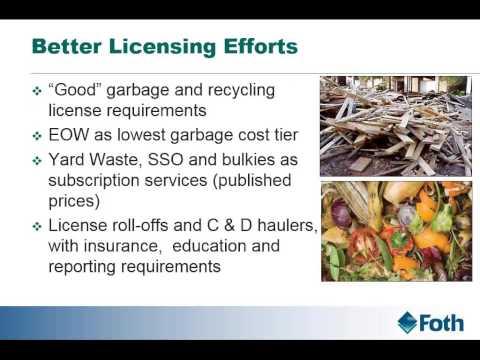 GreenStep Cities Workshop on Solid Waste