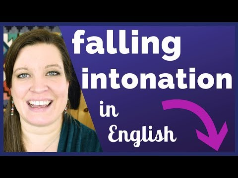 Falling Intonation in American English: Statements and Information Questions