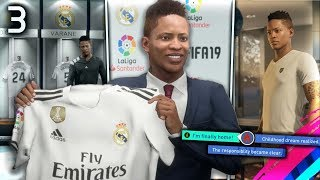 FIFA 19 THE JOURNEY Episode #3 - SIGNING FOR REAL MADRID!  (The Journey Full Movie Series)