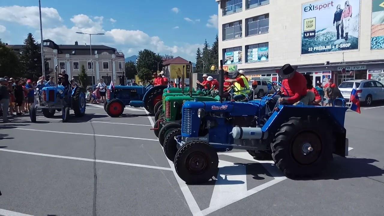 f43eba8fc5c3f Sedem statočných sa vydalo na cestu okolo Tatier. Na traktoroch - SME   MY  Liptov