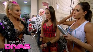 Natalya admits to The Bella Twins that she's been lying to Tyson Kidd: Total Divas, August 11, 2015
