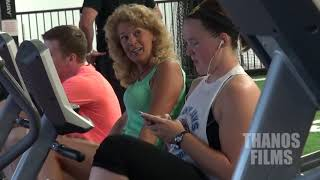 MOANING IN THE GYM PRANK