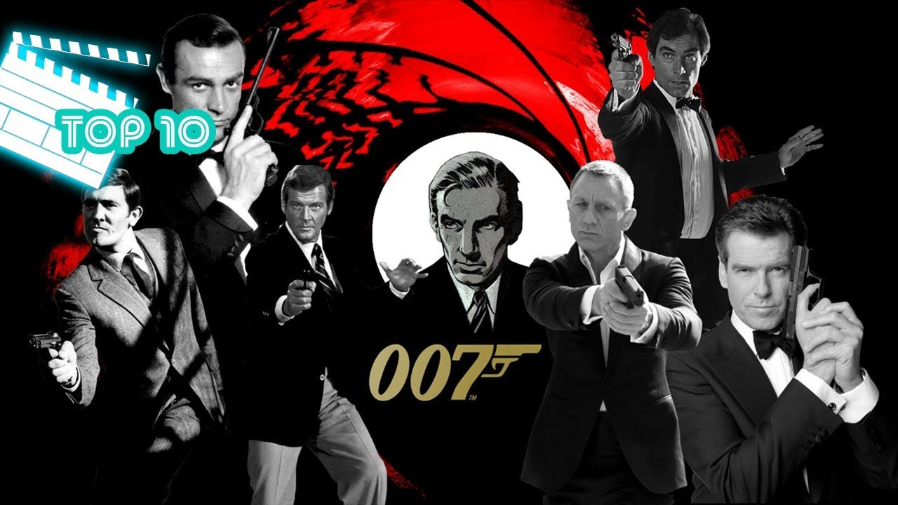 Top 10 Filmes 007 Youtube