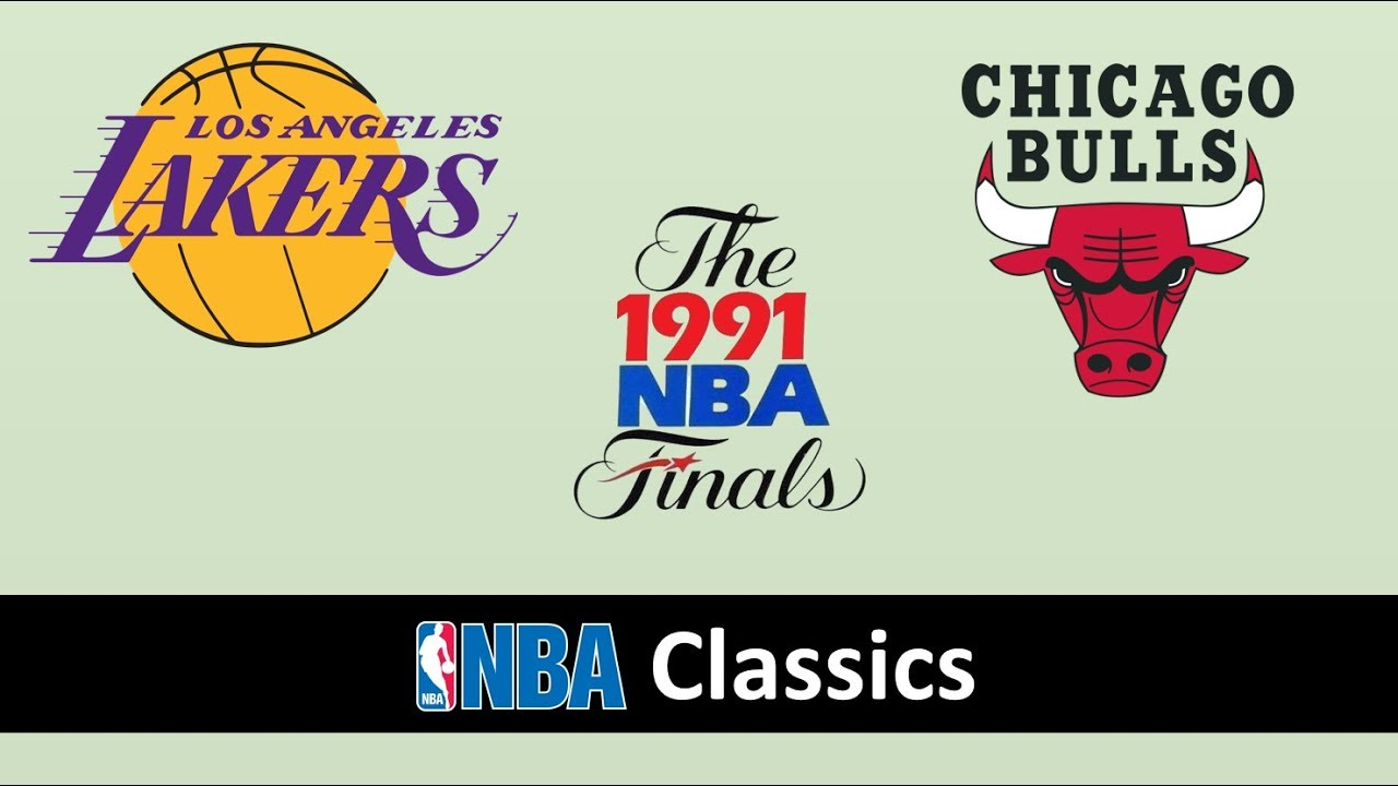 NBA Finals 1991 | Los Angeles Lakers vs Chicago Bulls - Game 5 [FULL MATCH]  - YouTube