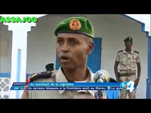 Djibouti: 40eme anniversaire des Forces Armées Djiboutiennes à Tadjourah