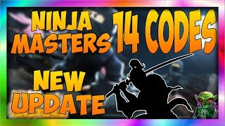 ALL NEW UPDATE 4 CODES In Roblox Ninja Masters