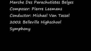 Marche Des Parachutistes Belges  - Pierre Leemans