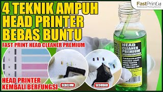 Repeat youtube video PALING AMPUH! 4 TEKNIK HEAD PRINTER BEBAS BUNTU DENGAN PEMBERSIH HEAD CLEANER PREMIUM FAST PRINT