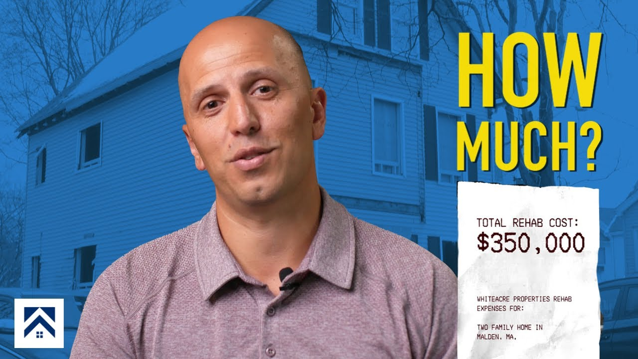 This is How Much We Spent on a Fix and FLIP in Malden, MA! (Real Estate Investment Tips)
