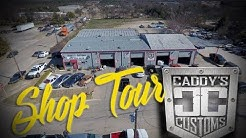 CADDY GIVES A SHOP TOUR OF CADDY CUSTOMS