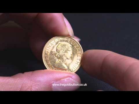 Queen Elizabeth II Pre-Decimal Gold Sovereign Coin