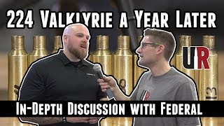 224 Valkyrie A Year Later: In Depth Discussion With Federal At 2019 SHOT Show