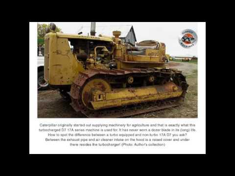 Classic Machines: Caterpillar's D7 tractor -'the early years