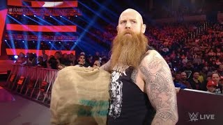 Erick Rowan Cage Mystery Revealed ? What's Inside Erick Rowan Cage ? Monday Night Raw