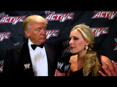 Donald Trump discusses his relationship with Mr. McMahon: WWE.com Exclusive, April 6, 2013