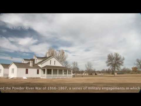 Fort Laramie, Wyoming - a fur trading & military post
