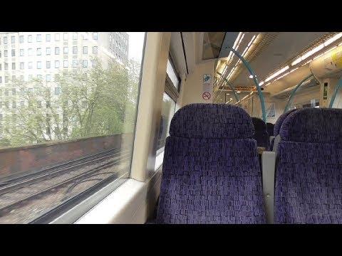 Southeastern 375624+375609 Charing X to London Bridge