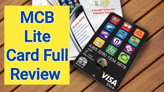 How to get MCB Lite Card (Unboxing)  - Online Shopping in Pakistan