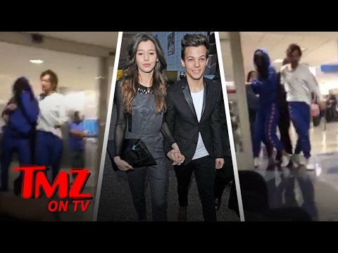 Louis Tomlinson – Arrested for LAX Attack! | TMZ TV