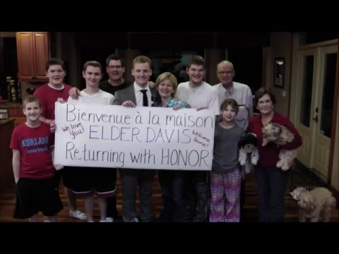 LDS Mission Homecoming (France Paris Mission)