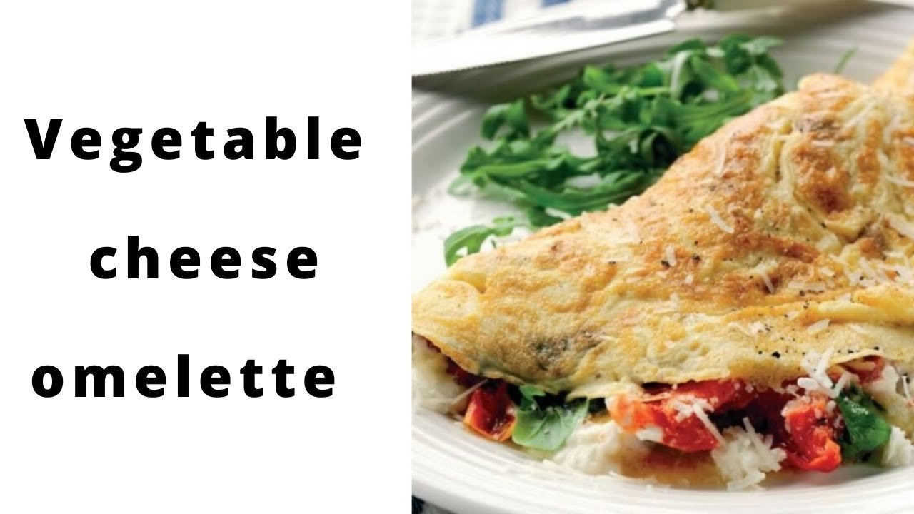 Special recipe for vegetable cheese omelet. ( in hindi ...