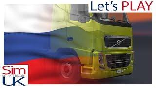 Euro Truck Simulator 2 | RUSSIA TOUR | ETS 2 S1E1