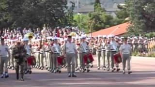 Camerone 2009 musique de la Légion étrangère