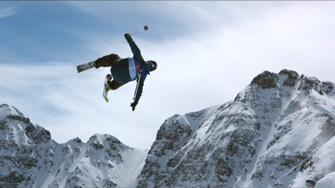 Slopestyle Skiing Comp
