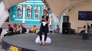 Элина Сидоренко на ICO Hypeton 2017
