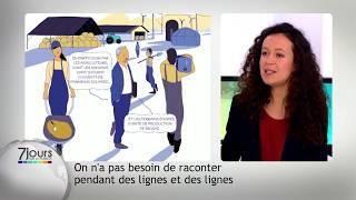 L'information en bande dessinée, avec Amélie Mougey
