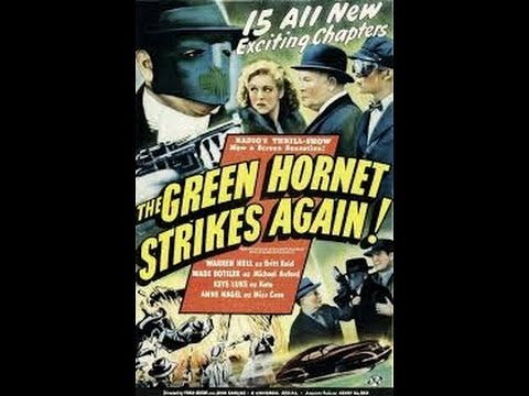 The Green Hornet Strikes Again:  Chapter 7-Death in the Clouds