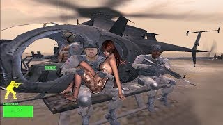 Delta Force: Black Hawk Down, Mission 10 , (Shore Patrol) Gameplay  HD computer games, pc games
