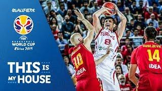 Turkey v Montenegro - Highlights - FIBA Basketball World Cup 2019 - European Qualifiers