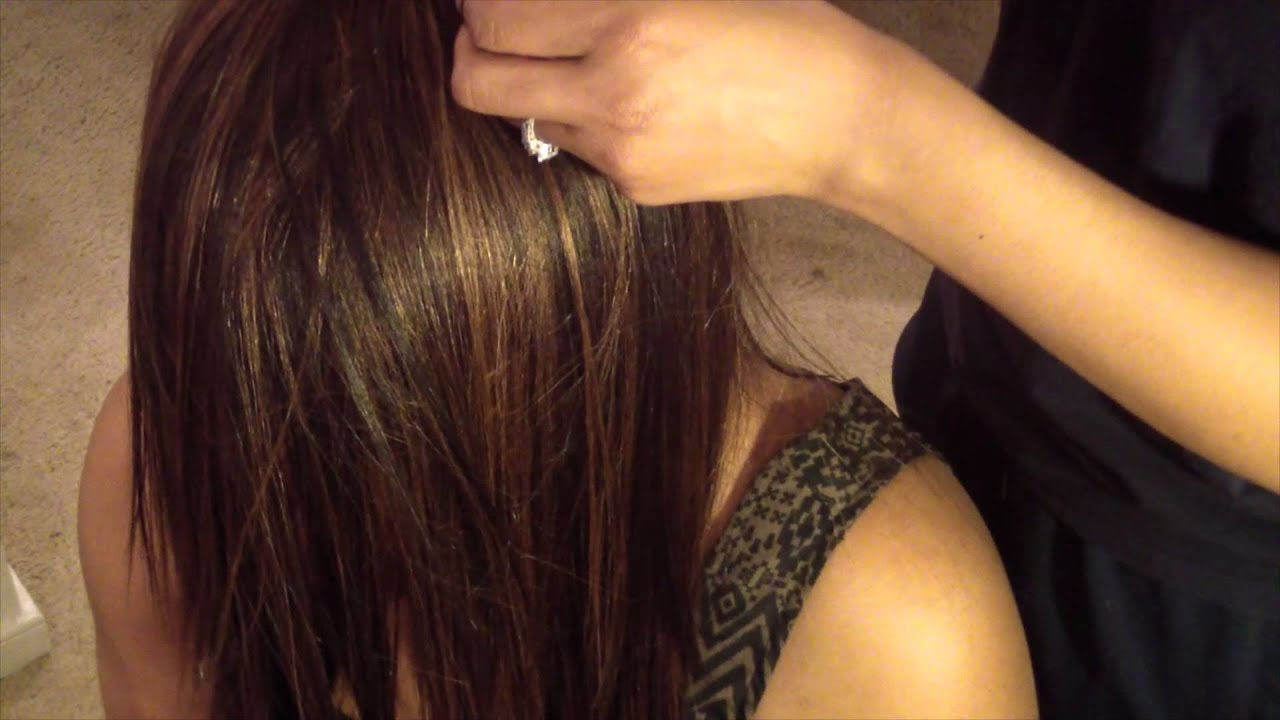 How To Close A Full Sew In Weave Braiding Pattern Youtube